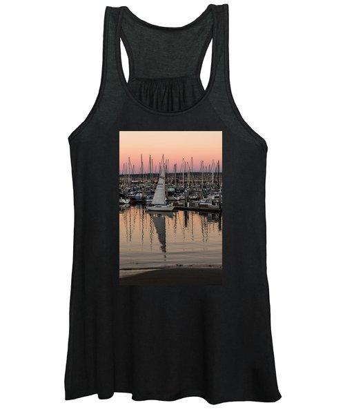 Coming Into The Harbor Women's Tank Top