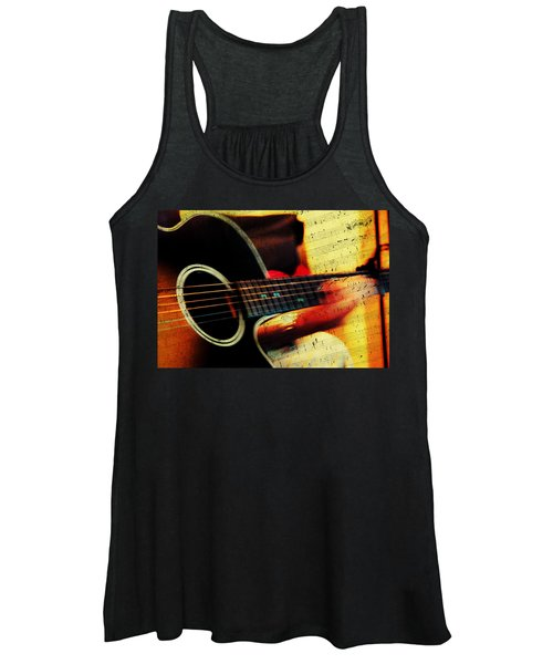 Composing Hallelujah. Music From The Heart  Women's Tank Top