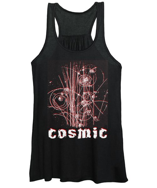 Cosmic Bubbles Women's Tank Top