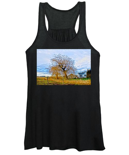 Country Life Artististic Rendering Women's Tank Top