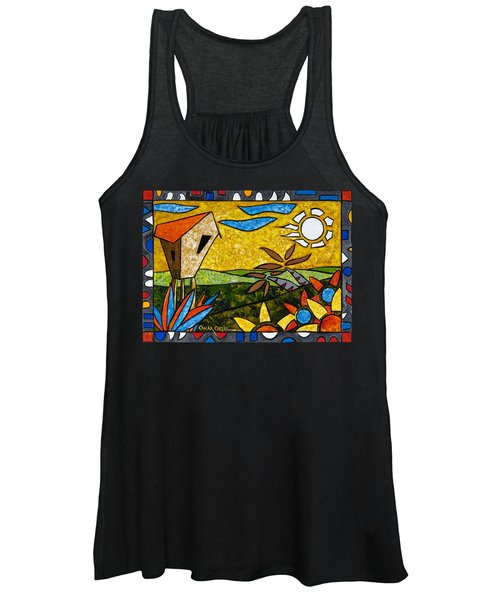 Country Peace Women's Tank Top