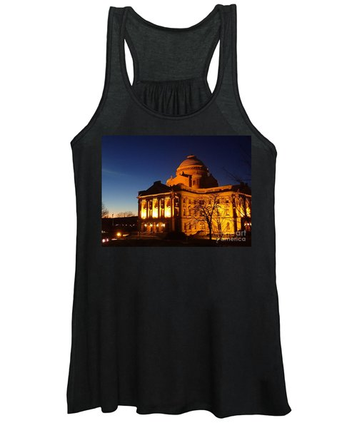 Courthouse At Night Women's Tank Top