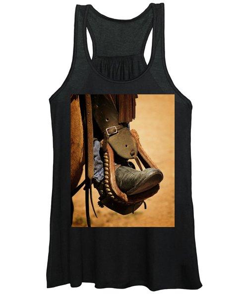 Cowboy Up Women's Tank Top