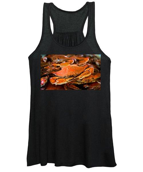 Crab Boil Women's Tank Top