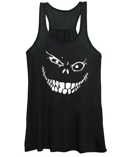 Crazy Monster Grin Women's Tank Top