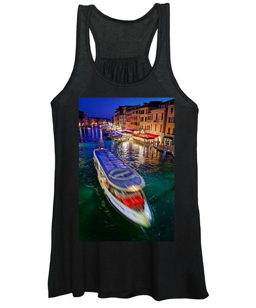 Crossing The Grand Canal Women's Tank Top