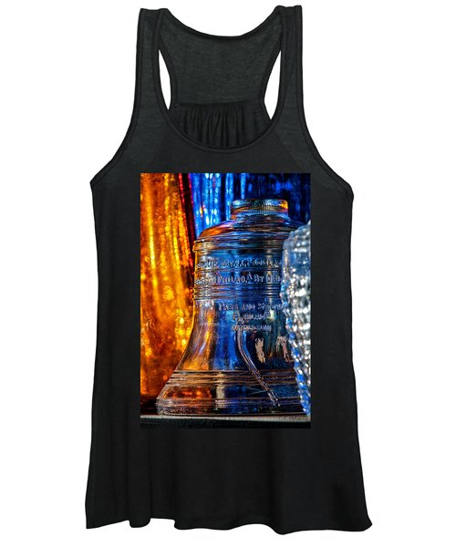 Crystal Liberty Bell Women's Tank Top