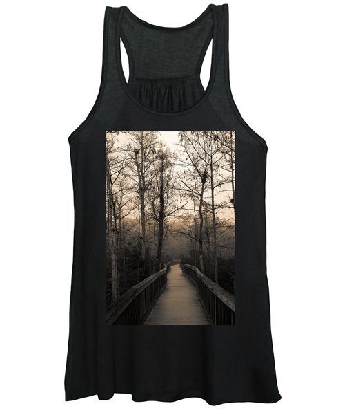 Cypress Boardwalk Women's Tank Top