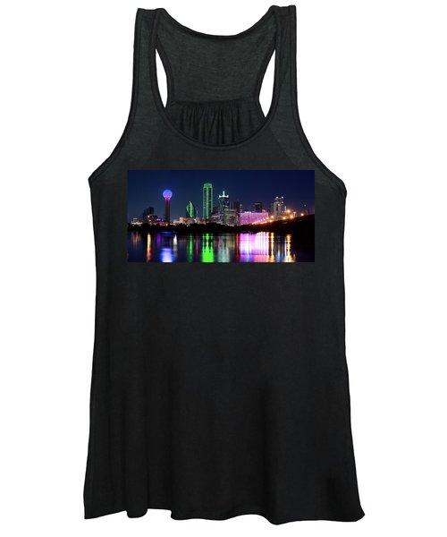 Dallas Colorful Night 52716 Women's Tank Top