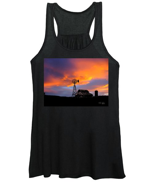 Day Is Done Women's Tank Top