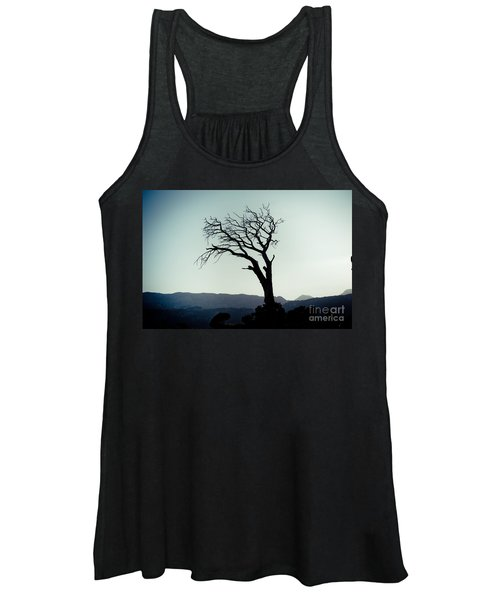 Dead Tree At The Sky Women's Tank Top