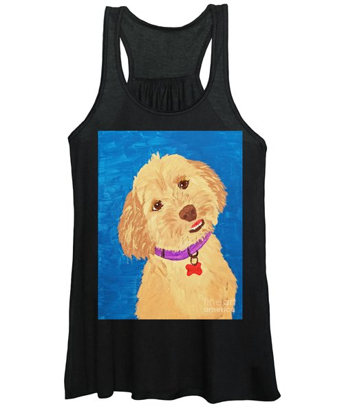 Della Date With Paint Nov 20th Women's Tank Top