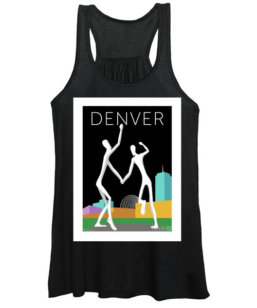 Denver Dancers/black Women's Tank Top