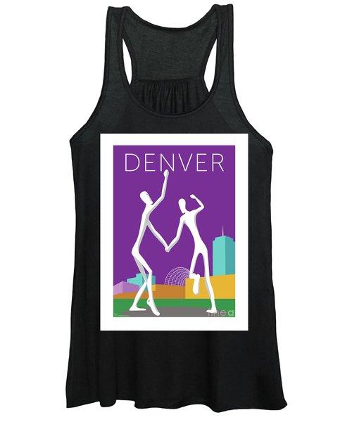 Denver Dancers/purple Women's Tank Top