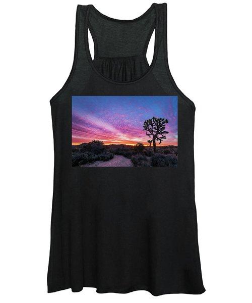 Desert Sunrise At Joshua Tree Women's Tank Top