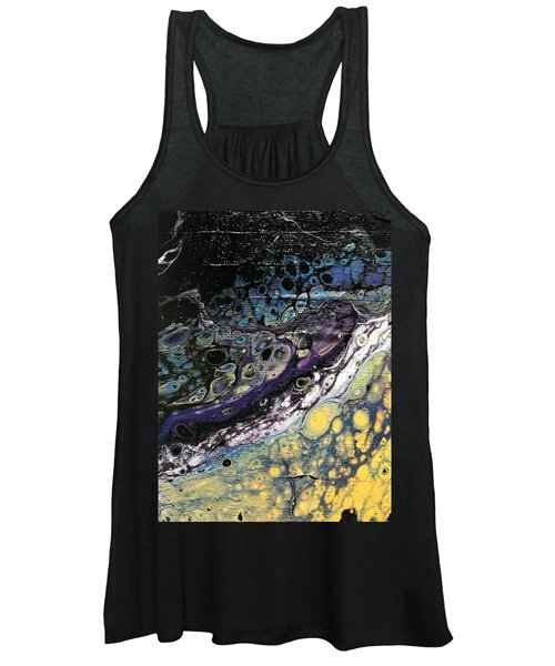 Detail Of He Likes Space 2 Women's Tank Top