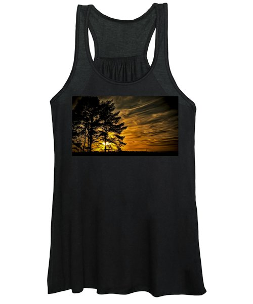 Devils Sunset Women's Tank Top