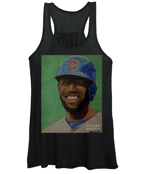 Dexter Fowler Portrait Women's Tank Top