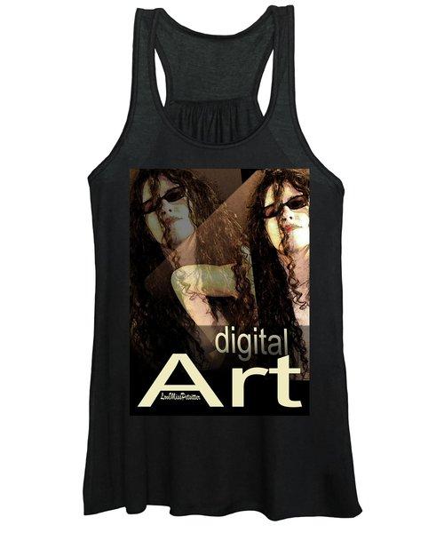 Digital Art Poster Women's Tank Top