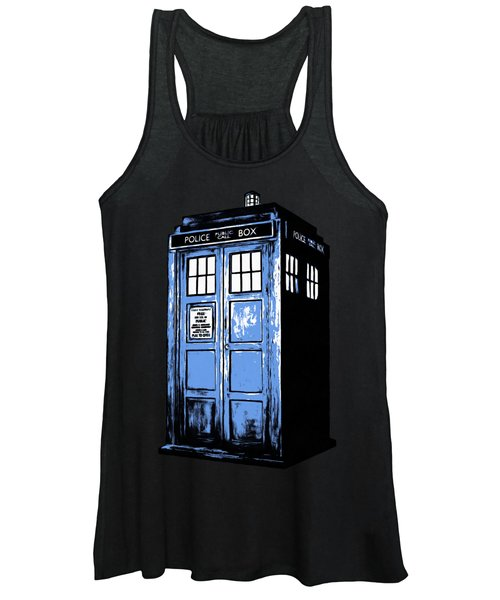 Doctor Who Tardis Women's Tank Top
