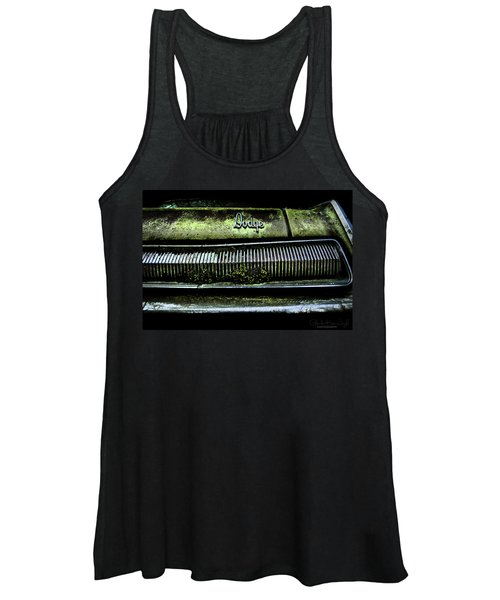 Dodge Green Grin Women's Tank Top