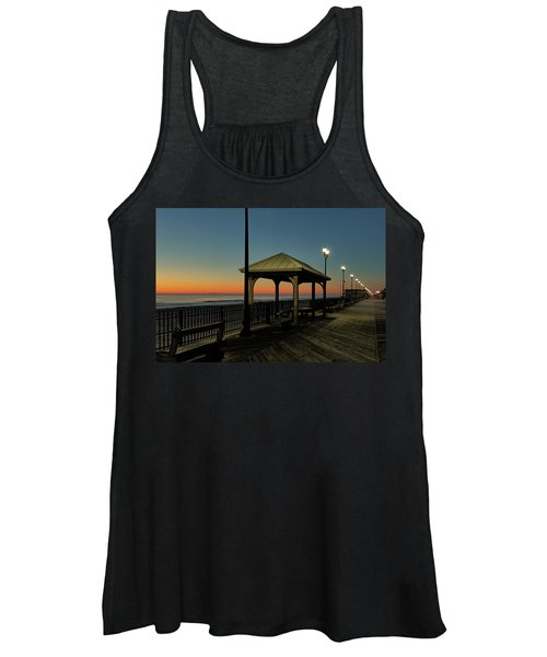 Down The Shore At Dawn Women's Tank Top