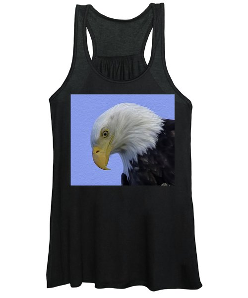 Eagle Head Paint Women's Tank Top