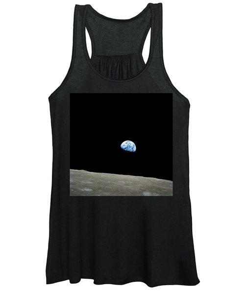 Earthrise - The Original Apollo 8 Color Photograph Women's Tank Top