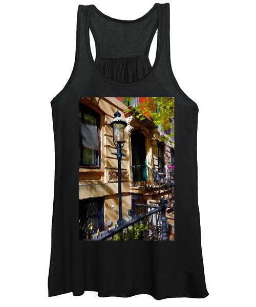East Village New York Townhouse Women's Tank Top