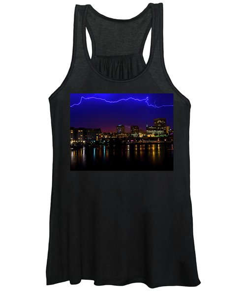 Electric Blue Women's Tank Top