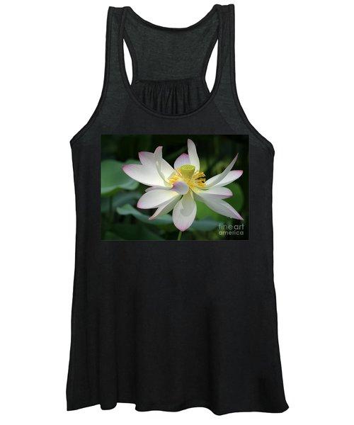 Elegant Lotus Women's Tank Top