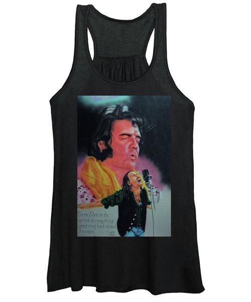 Elvis And Jon Women's Tank Top