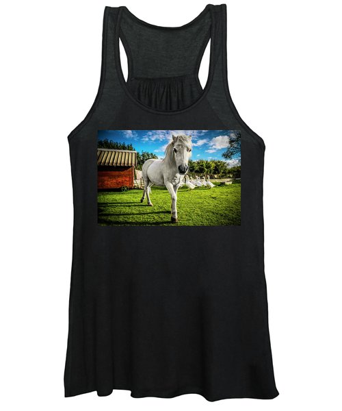 English Gypsy Horse Women's Tank Top