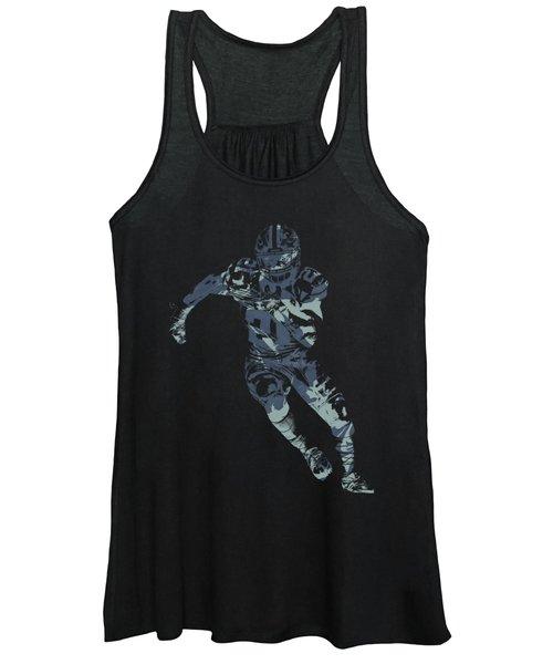 3ffa4ce43365bb Ezekiel Elliott Cowboys Pixel Art T Shirt Women s Tank Top