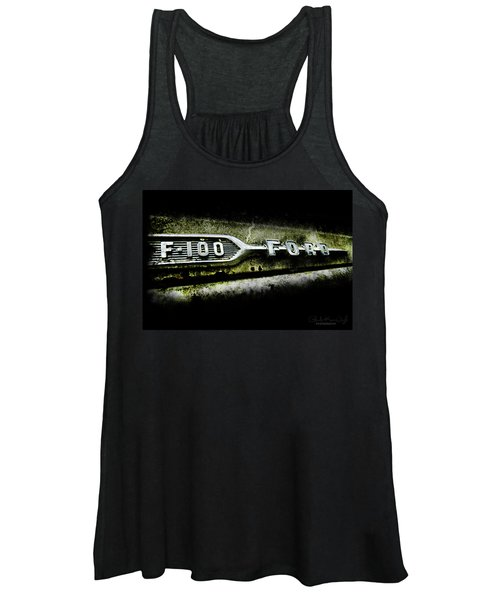 F-100 Ford Women's Tank Top