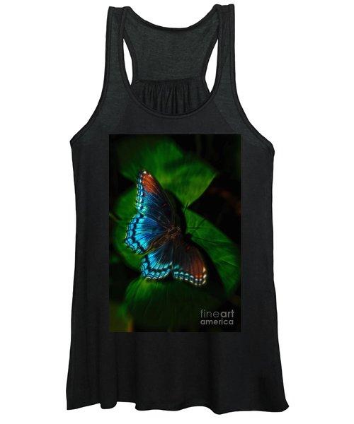 Fall Butterfly Women's Tank Top