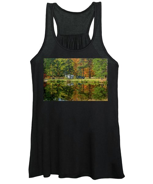 Fall Camping Women's Tank Top
