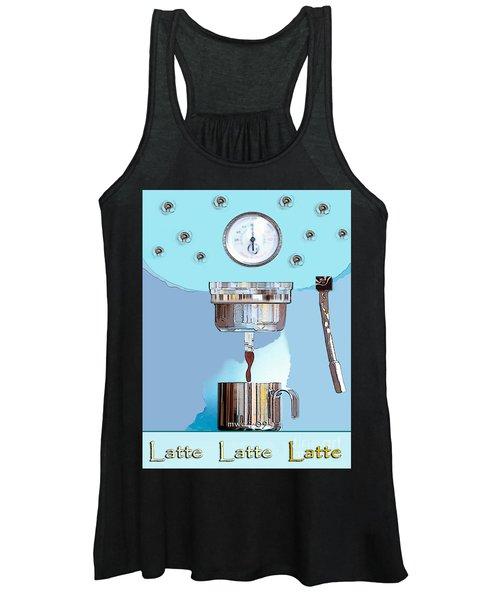 Fantasy Espresso Machine Women's Tank Top