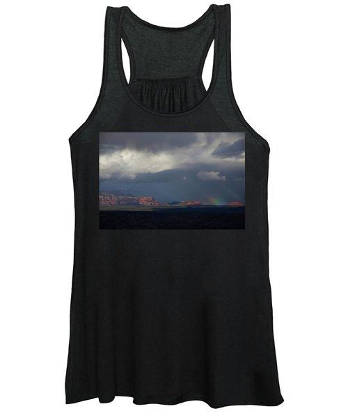 Fat Ground Rainbow, Red Rocks Sedona Women's Tank Top