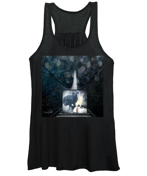 Fear Of Stairs Women's Tank Top