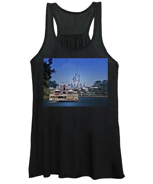 Ferry Boat Magic Kingdom Walt Disney World Mp Women's Tank Top