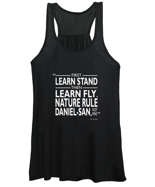 First Learn Stand Women's Tank Top