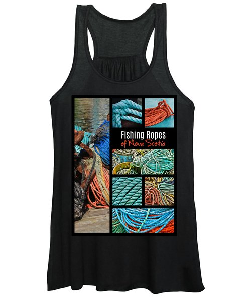 Fishing Ropes Of Nova Scotia Women's Tank Top