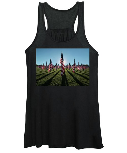 Flags Of Valor - 2016 Women's Tank Top