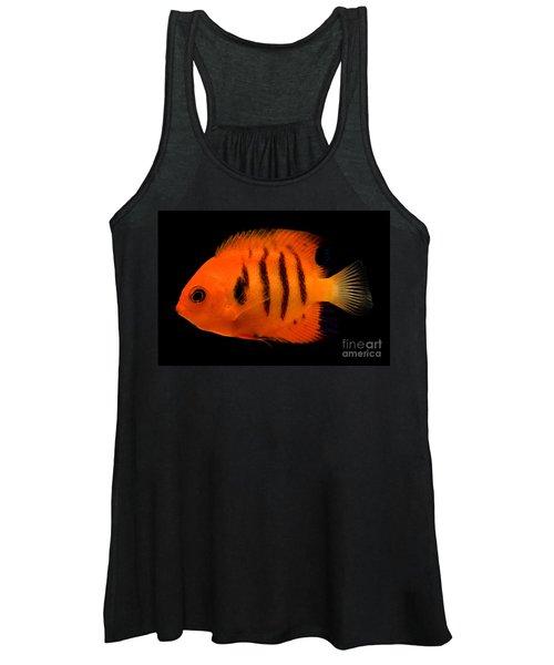 Flame Angelfish Women's Tank Top