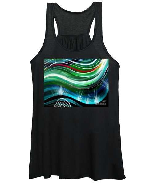 Flashes In Memory. Spring Women's Tank Top