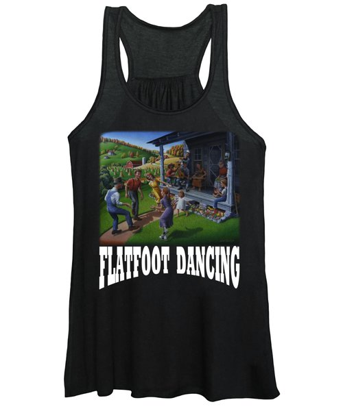 Flatfoot Dancing T Shirt 2 Women's Tank Top