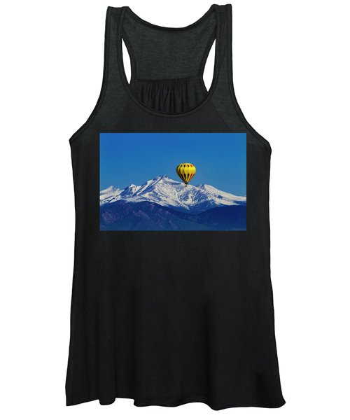 Floating Above The Mountains Women's Tank Top
