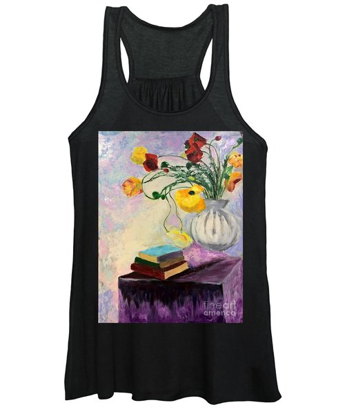 Floral Abstract Women's Tank Top