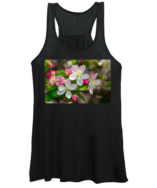 Flowering Cherry Tree Blossoms Women's Tank Top